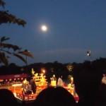 大覚寺・観月の夕べ