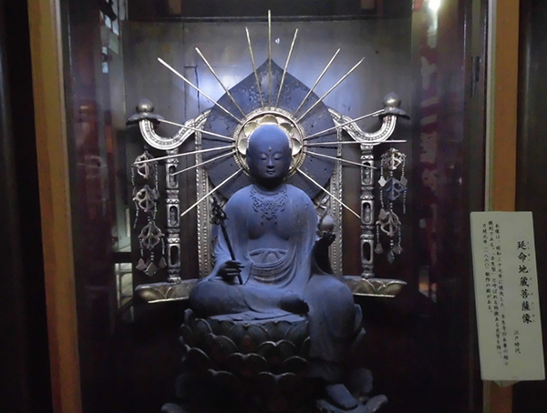 壬生寺・延命地蔵像