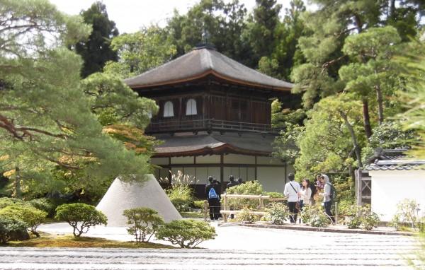 銀閣寺+向月台+銀沙灘