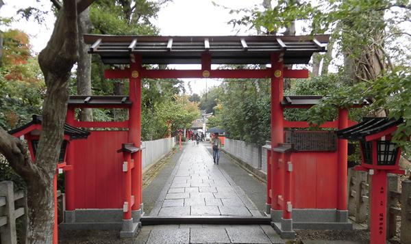 車折神社・玉垣