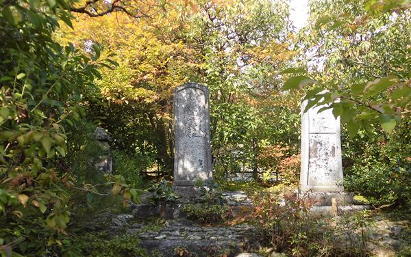 光悦寺・墓碑