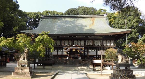 今宮神社・拝殿