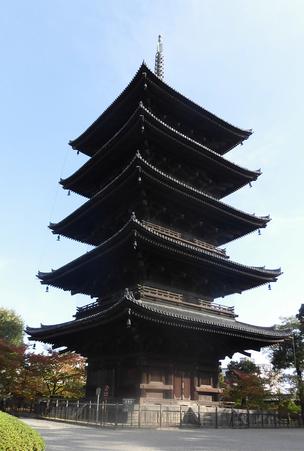 東寺・五重塔