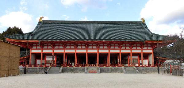 平安神宮・神楽殿