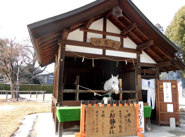 上賀茂神社・神馬舎