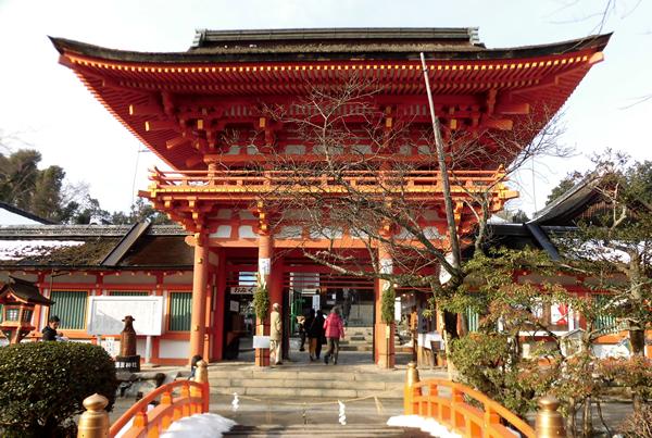 上賀茂神社・楼門