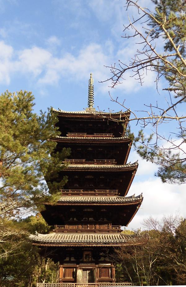 仁和寺・五重塔